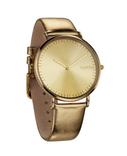 Soho Metallic Gold Watch