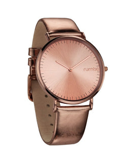 Soho Metallic Rose Gold Watch