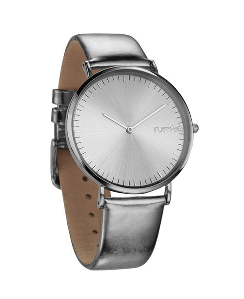Soho Metallic Silver Watch