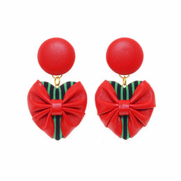 Strawberry Swing Mini Earrings
