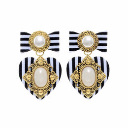 Striped Lady Mini Earrings