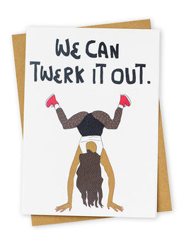 Twerk Greeting Card
