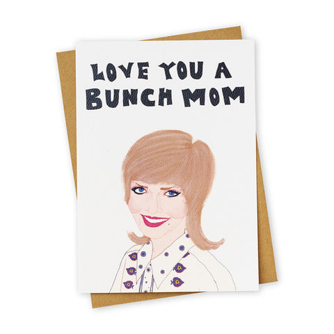 Love You a Bunch Card