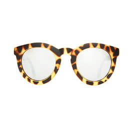 The T.V. Eye Sunglasses - Matte Jungle Tortoise