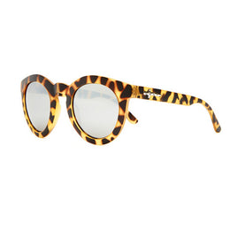 The T.V. Eye Sunglasses - Matte Jungle Tortoise View 2