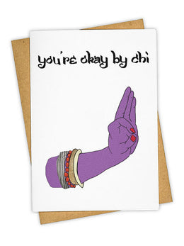 Alright By Chi Greeting Card