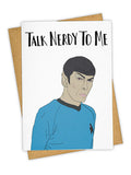Talk Nerdy Card