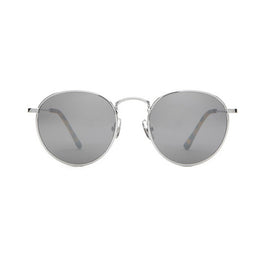 The Tuff Patrol Sunglasses - Polished Nickel Wire & Matte