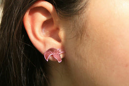 Unicorn Earrings View 2