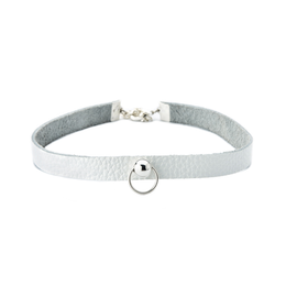 Everyday Choker Silver on White