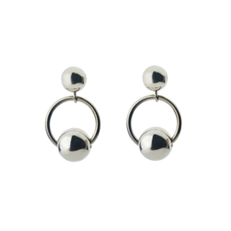 Ginza Earrings in Silver