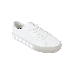SL Shoes in White Leather View 2