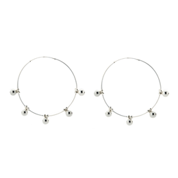 On Point Hoop Earrings