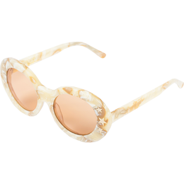 Dakota Sunglasses in Cream Marble View 2