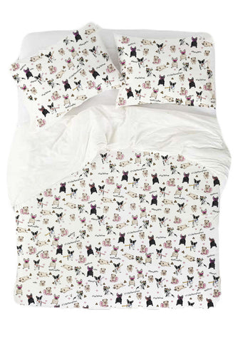 Dogs Attack Bedding Set