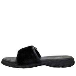 Nile Sandals (Black Fur) View 2
