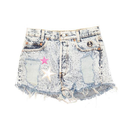 Superstarry Denim Shorts View 2