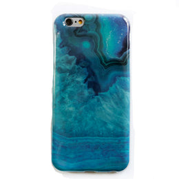 Crystal Phone Case in teal