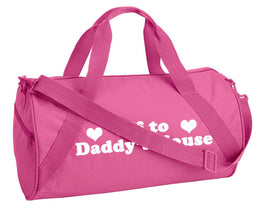 Off To Daddy's House Duffle Bag