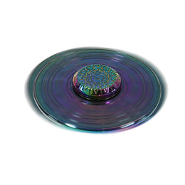 Rainbow Fidget Spinner in Zodiac View 2