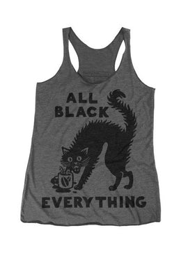 All Black Everything Tank