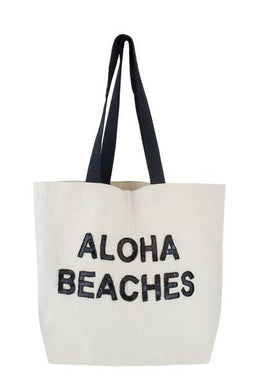Aloha Beaches Sequin Tote