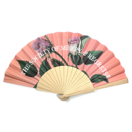 Miserable People Folding Fan