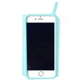 Bitchin' & Sippin' iPhone 6/6S Case in Blue View 2