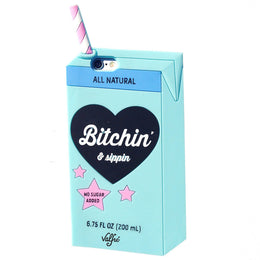Bitchin' & Sippin' iPhone 6/6S Case in Blue