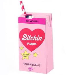 Bitchin' & Sippin' iPhone 6/6S Case in Pink