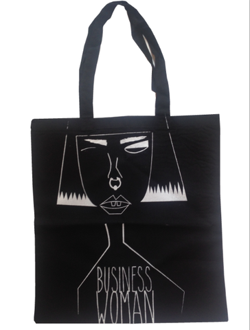 Business Woman Tote Bag