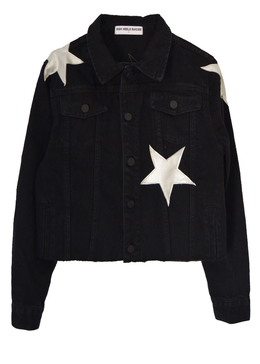 Cosmos Black Denim Jacket