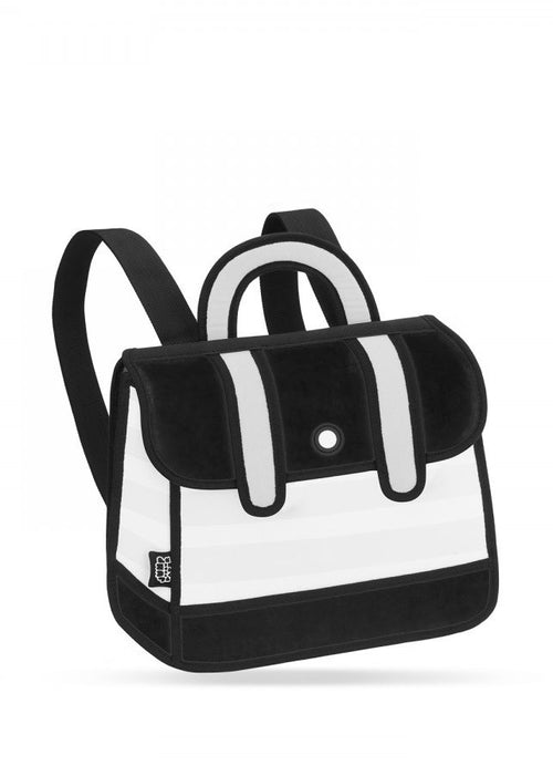 Black Stripe Backpack