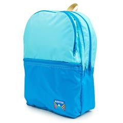 Two Tone Wilson Backpack in Light Blue/Aqua