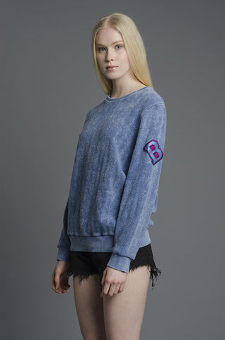 Blue Midnight Hour Sweater