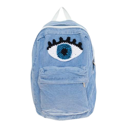 Denim Eye Backpack