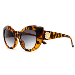The Diamond Brunch Sunglasses in Gloss Tiger Tortoise View 2