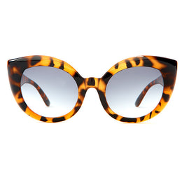 The Diamond Brunch Sunglasses in Gloss Tiger Tortoise