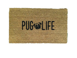 Pug Life Welcome Mat