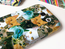 Cat Collage iPhone Case View 2