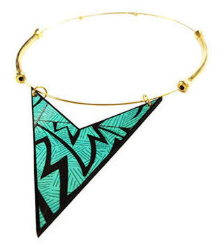 The Chevron Triangle Choker