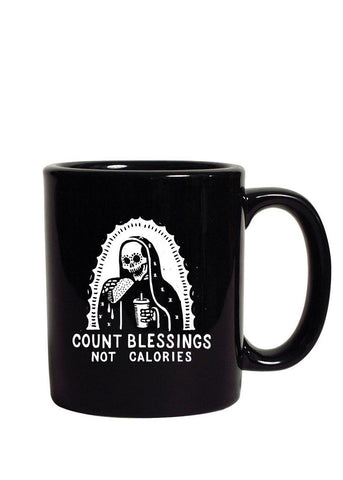 Count Blessings Not Calories Mug