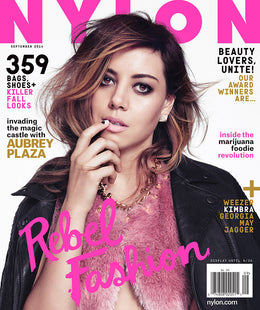 Aubrey Plaza, September 2014 Issue