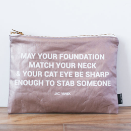 Foundation Zip Pouch