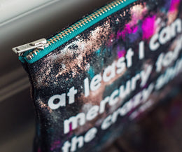 Mercury Zip Pouch View 2