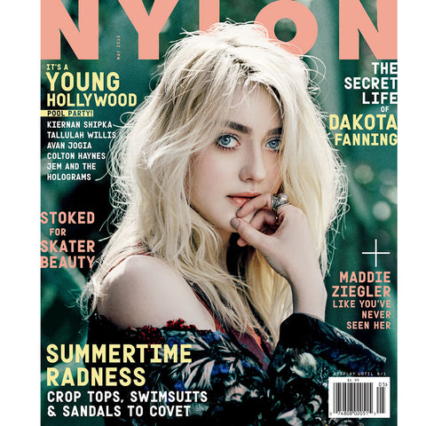 NYLON May Issue, Dakota Fanning