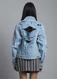 So Ripped Denim Jacket