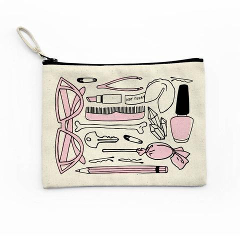 All The Things Canvas Pouch