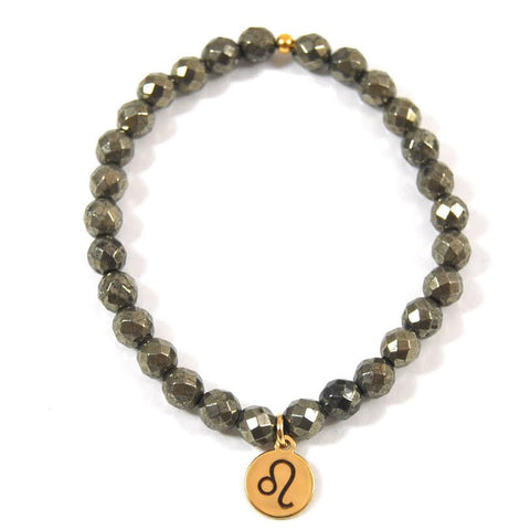 Leo Pyrite Bliss Bracelet