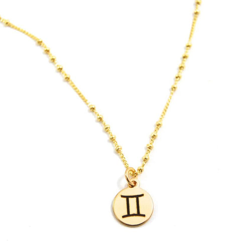 Gemini Charm Necklace